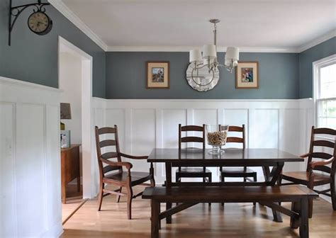 Wainscoting Ideas For Dining Room by Board And Batten Wainscoting Could Be In The Family