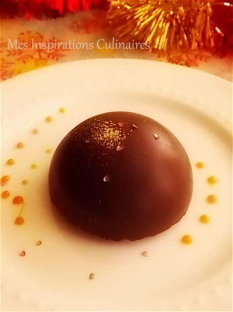 cuisine pas chere dôme mousse au chocolat coeur caramel coulant le