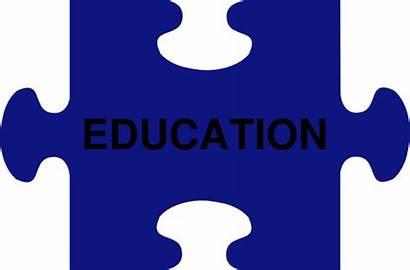 Education Clip Complete Puzzle Clipart Clker Domain