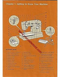 Singer 7105 Zig Zag Sewing Machine Instruction Manual Free