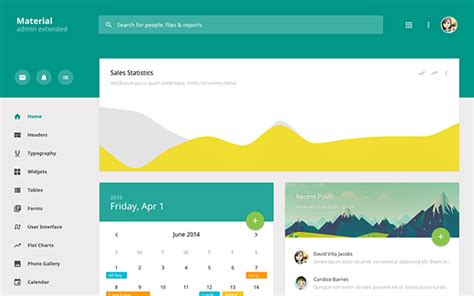 material template material admin extended admin template wrapbootstrap