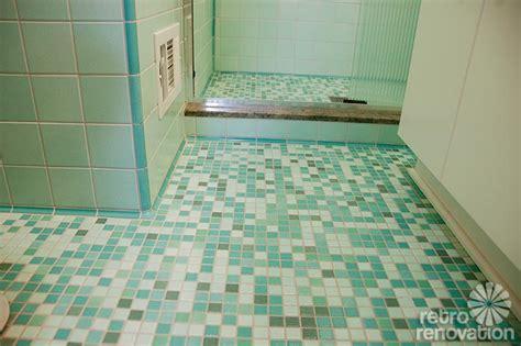 rebeccas mid century bathroom remodel  nemo tiles mud set retro renovation