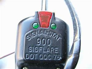 Signal Stat 902y19 Sigflare 900 Turn Signal Switch 12v 4