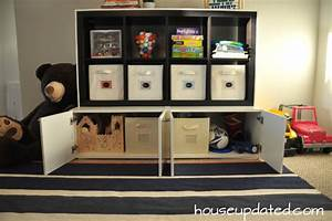 diy playroom storage house updated With what kind of paint to use on kitchen cabinets for playroom wall art ideas