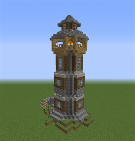 medieval colonial lighthouse grabcraft  number