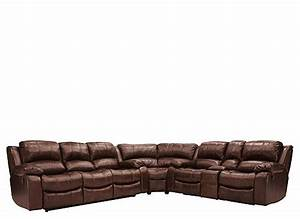 Bryant ii 5 pc leather power reclining sectional sofa for Garrison 2 pc leather sectional sofa reviews