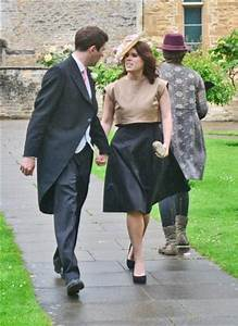 Princess Eugenie and her bf Jack Brooksbank at the wedding ...