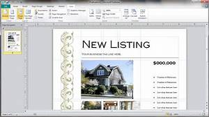 real estate craigslist template - real estate flyer template selection youtube