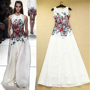 aliexpresscom buy high quality 2016 newest runway maxi With robes fleuries ete 2017