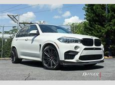 BMW X5M with 22in Vossen VPS307 Wheels exclusively from