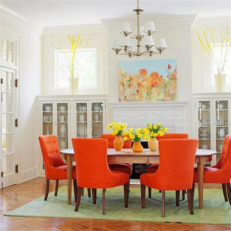 vibrant colored dining chairs for the modern dining room