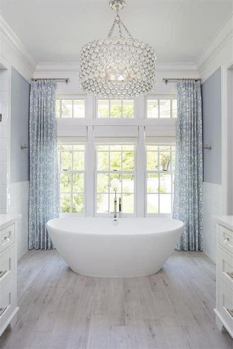 large crystal drum pendant light  oval bathtub