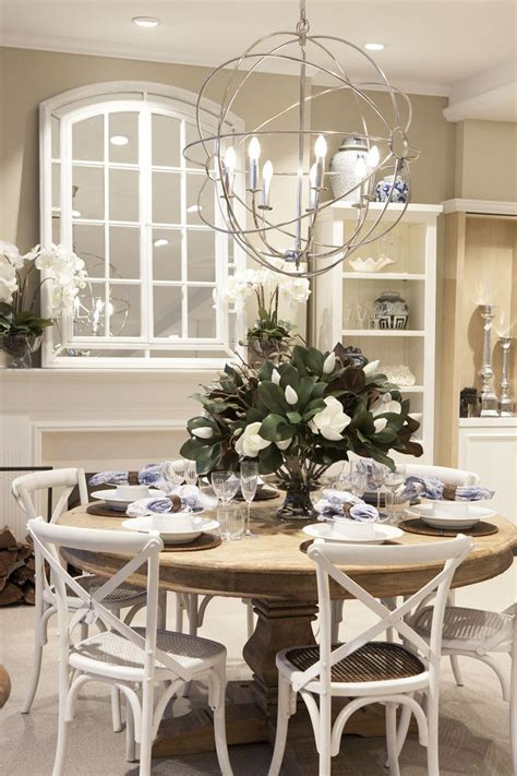 Our Hampton Chairs Look Great With Our Boston Table