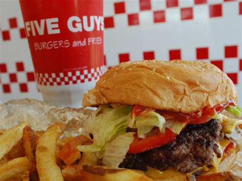 Five Guys Burgers and Fries   A Million Cool Things to Do Seattle