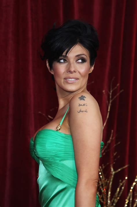 Kym Marsh Photos Photos British Soap Awards 2010