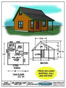 cabin floor plans small small cabin floor plans c0432b cabin plan details picmia