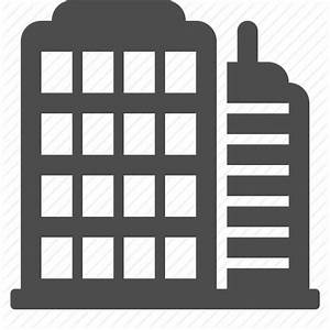 12 Business Office Building Icon Images - Small Office ...