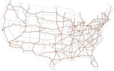 interstate highways interstates map wikipedia current