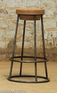 Tabouret De Bar Industriel : tabouret et chaise de bar industriel 27 id es d co ~ Nature-et-papiers.com Idées de Décoration