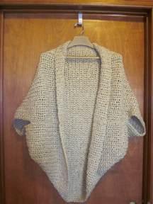 Crochet Beginner Shrug Pattern