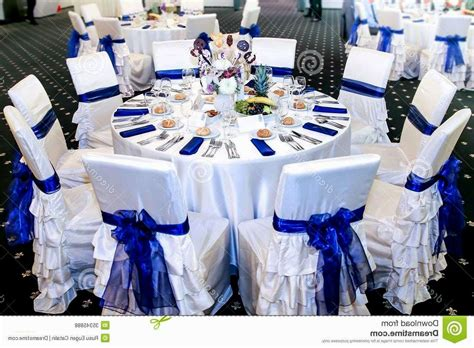 light blue  silver wedding decorations