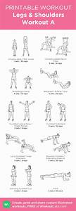 Legs  U0026 Shoulders Workout A  My Visual Workout Created At Workoutlabs Com  U2022 Click Through To