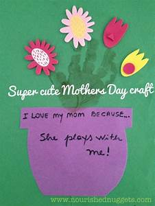 Super easy and cute Mother's Day craft idea | Nourished ...
