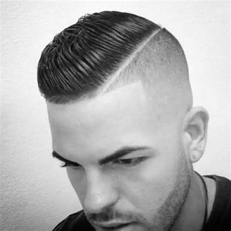 hard part haircut ideas   modern dapper man