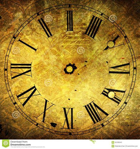 clock face  attractive grunge textures stock