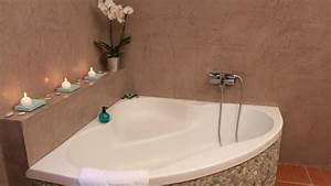 plongez vous dans l39univers du beton cire decoratif With enduit mur salle de bain