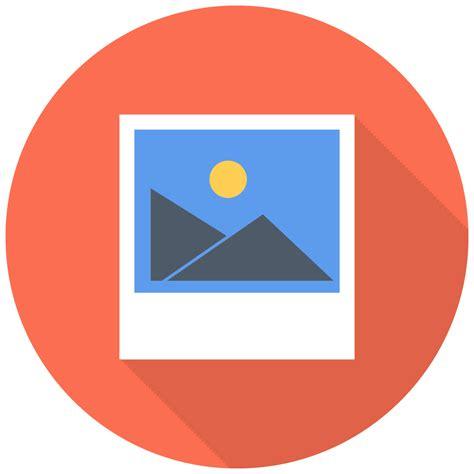 photo icon  flat multimedia iconset designbolts