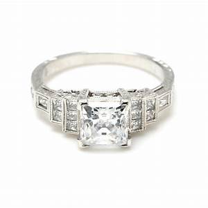 art deco engagement rings a bewitching piece of stunning With deco wedding ring