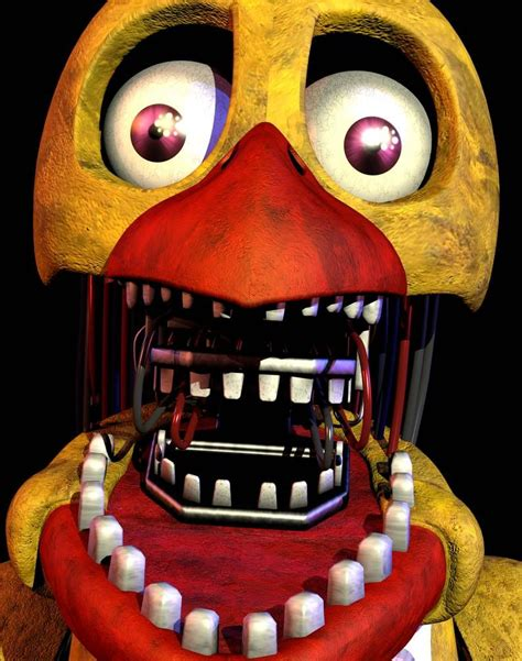Withered Chica Ultimate Custom Night Wiki Fandom