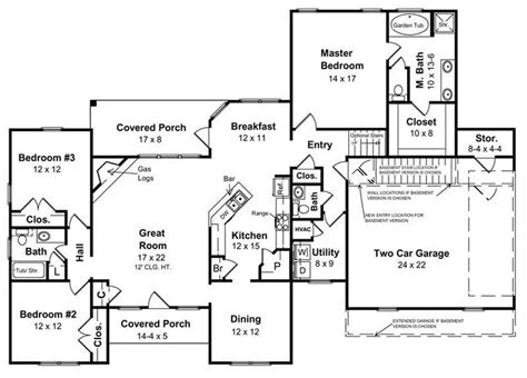 house plans with a basement house plans for a ranch style home inspirational basement