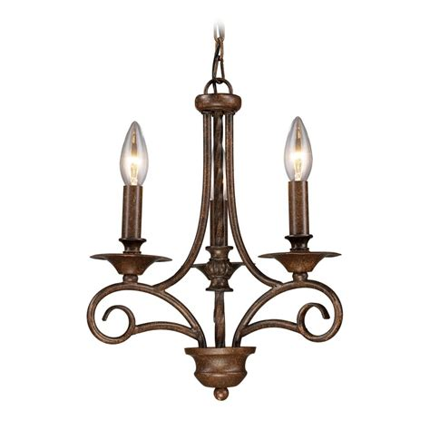Mini Chandeliers by Mini Chandelier In Antique Bronze Finish 15041 3