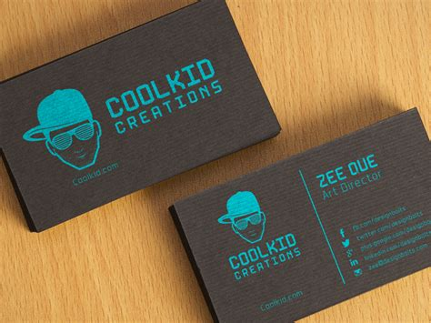 Best Visiting Card Best Black Textured Business Card Design Psd Business