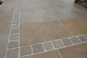 Dallage Travertin Extérieur : almendra eberhart stone group ~ Edinachiropracticcenter.com Idées de Décoration