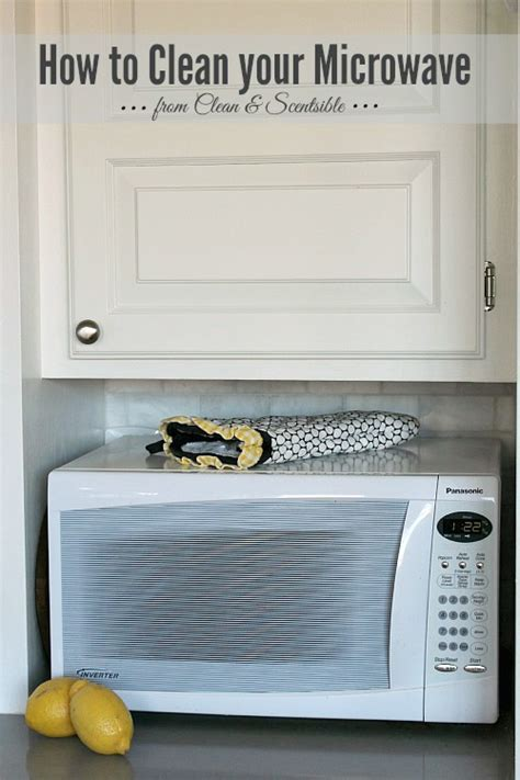 How To Clean Your Microwave & Garbage Disposal  Clean And
