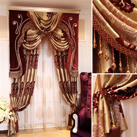 high quality new fashion curtains bedroom luxury