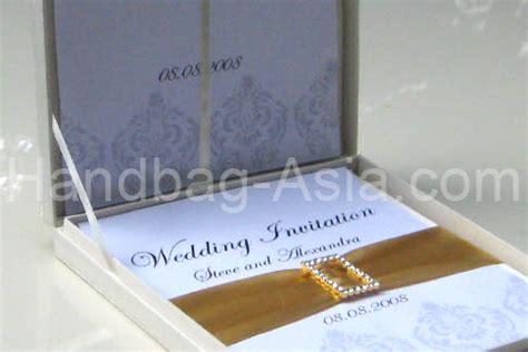 Couture Silk Invitation Box Set For Wedding Invitations