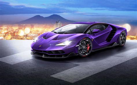 Purple Lamborghini Car New Concept Images  New Hd