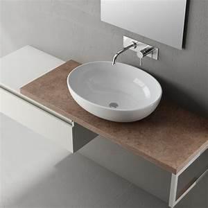 Mobili da bagno con lavabo appoggio mobilia la tua casa for Lavabo bagno appoggio