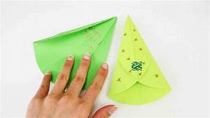 Tannenbaum Selber Basteln : originelle weihnachtskarte tannenbaum zum ausklappen falten origami weihnachtsbaum diy youtube ~ Yasmunasinghe.com Haus und Dekorationen