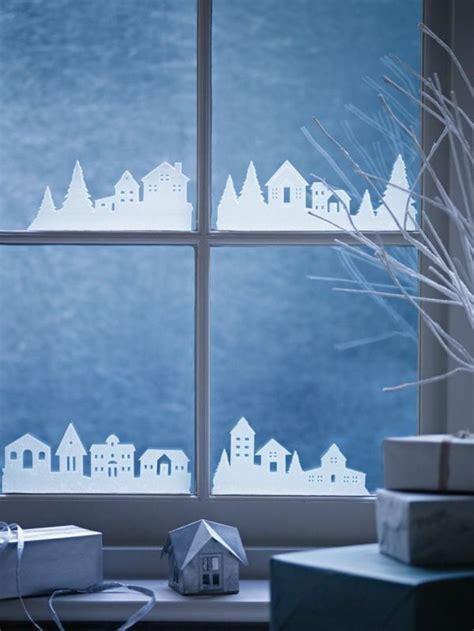 Weihnachtsdeko Fenstersticker by Kreative Ideen F 252 R Eine Festliche Fensterdeko Zu