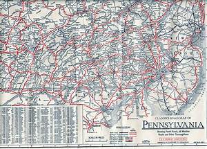 Road Map Pennsylvania New Jersey
