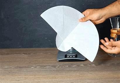 Filter Chemex Step Paper Fold
