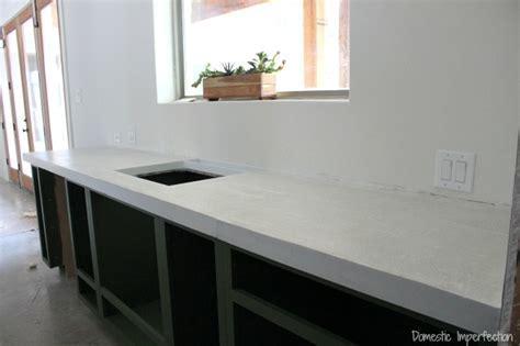 DIY Concrete Countertops, Part II   The Pour   Domestic