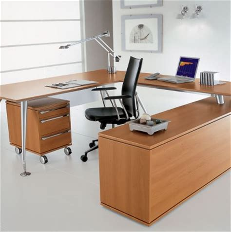 bureau en u directionnel mobilier raimondi