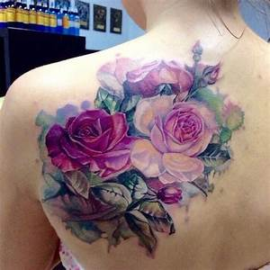 37 best Purple Rose Watercolor Tattoo images on Pinterest ...