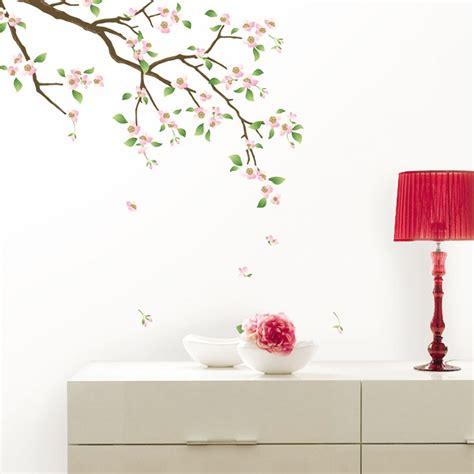 amour bureau stickers muraux fleurs sticker cerisier en fleurs